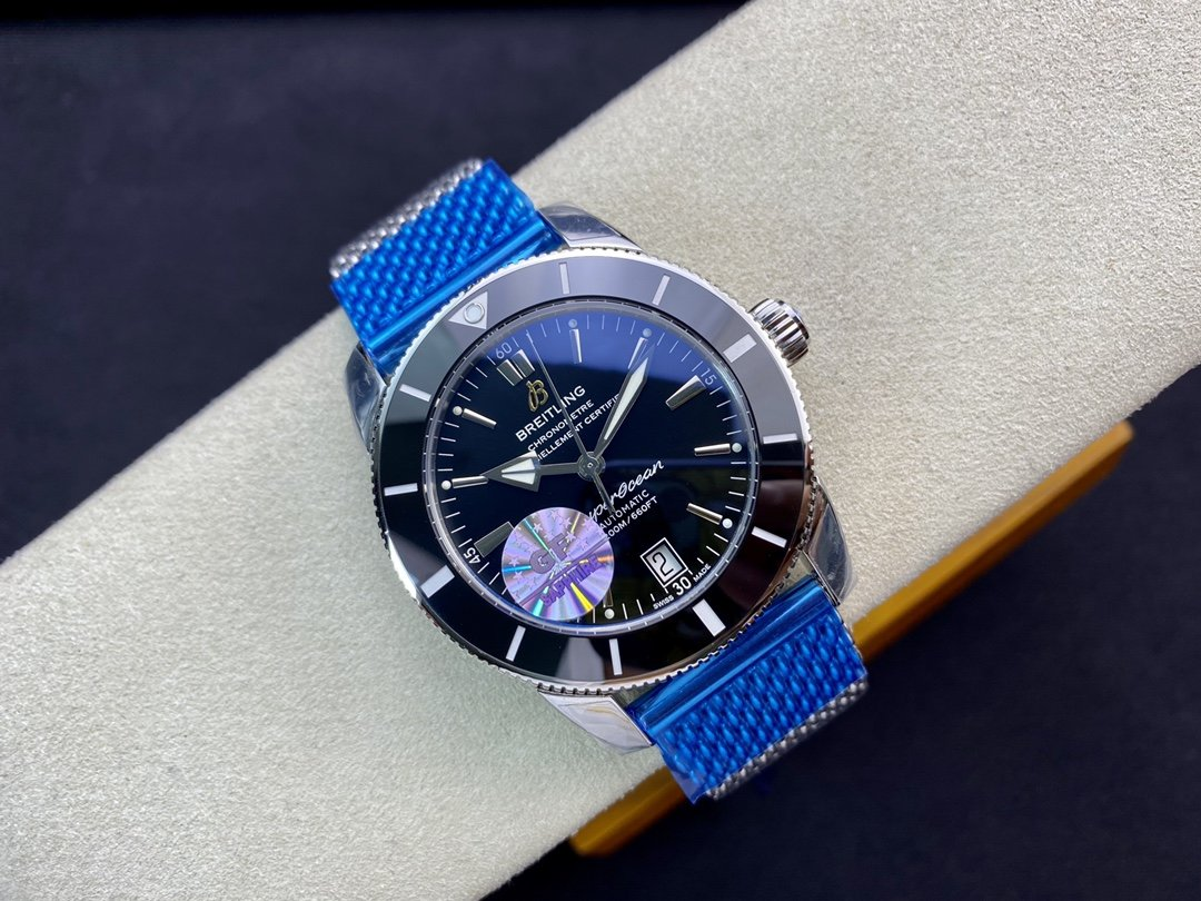 GF廠高仿百年靈超級海洋文化二代9015改裝B20自動機械機芯42MM複刻手錶腕表