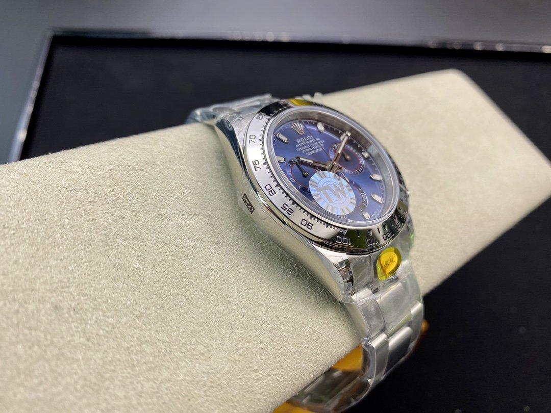 TW廠高仿勞力士蠔式恒動宇宙計時型迪通拿系列904L鋼7750機芯40MM複刻手錶腕表