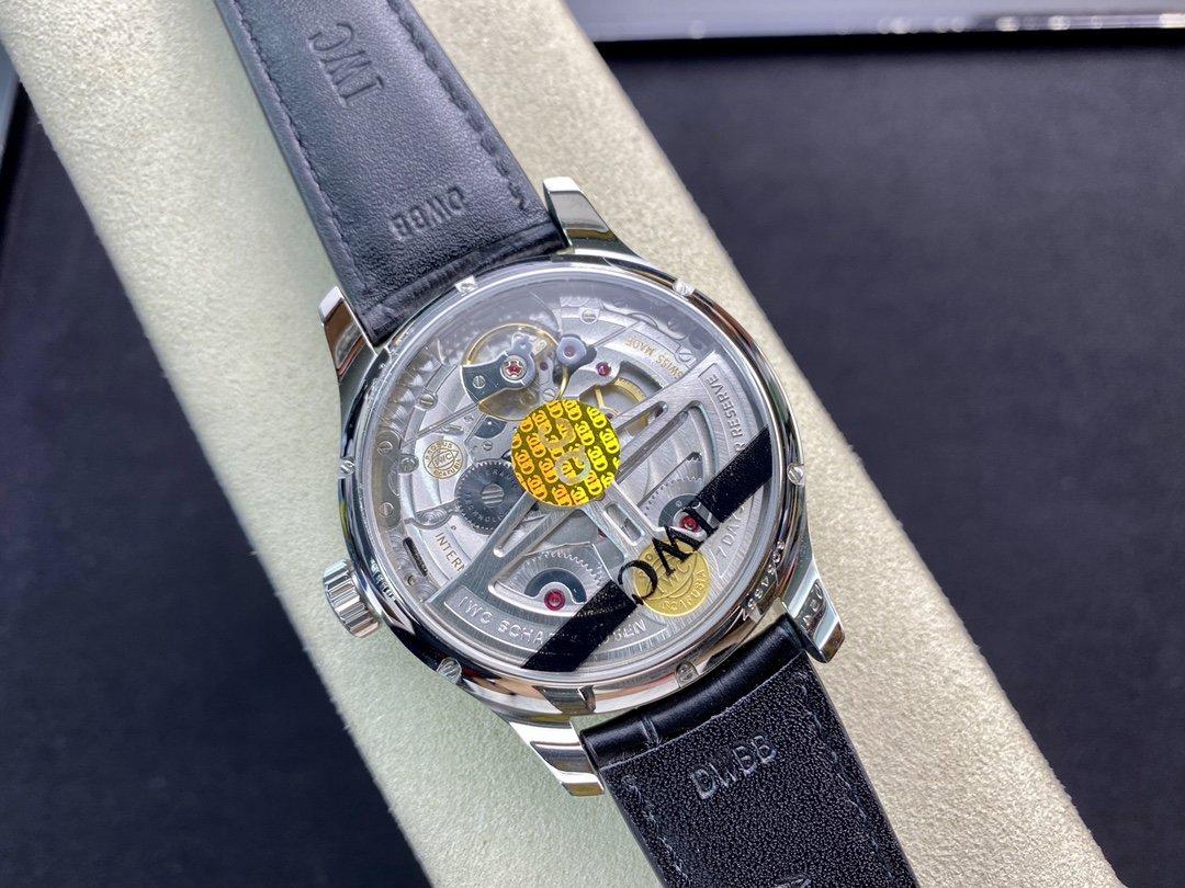 ZF廠高仿萬國IWC葡萄牙系列萬年曆多功能腕表44MM複刻手錶