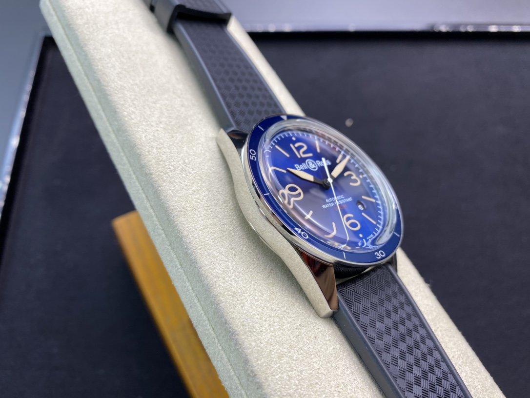 高仿柏萊士INSTRUMENTS系列BR123-BL-SI/SCA/2腕表9015機芯42MM複刻手錶