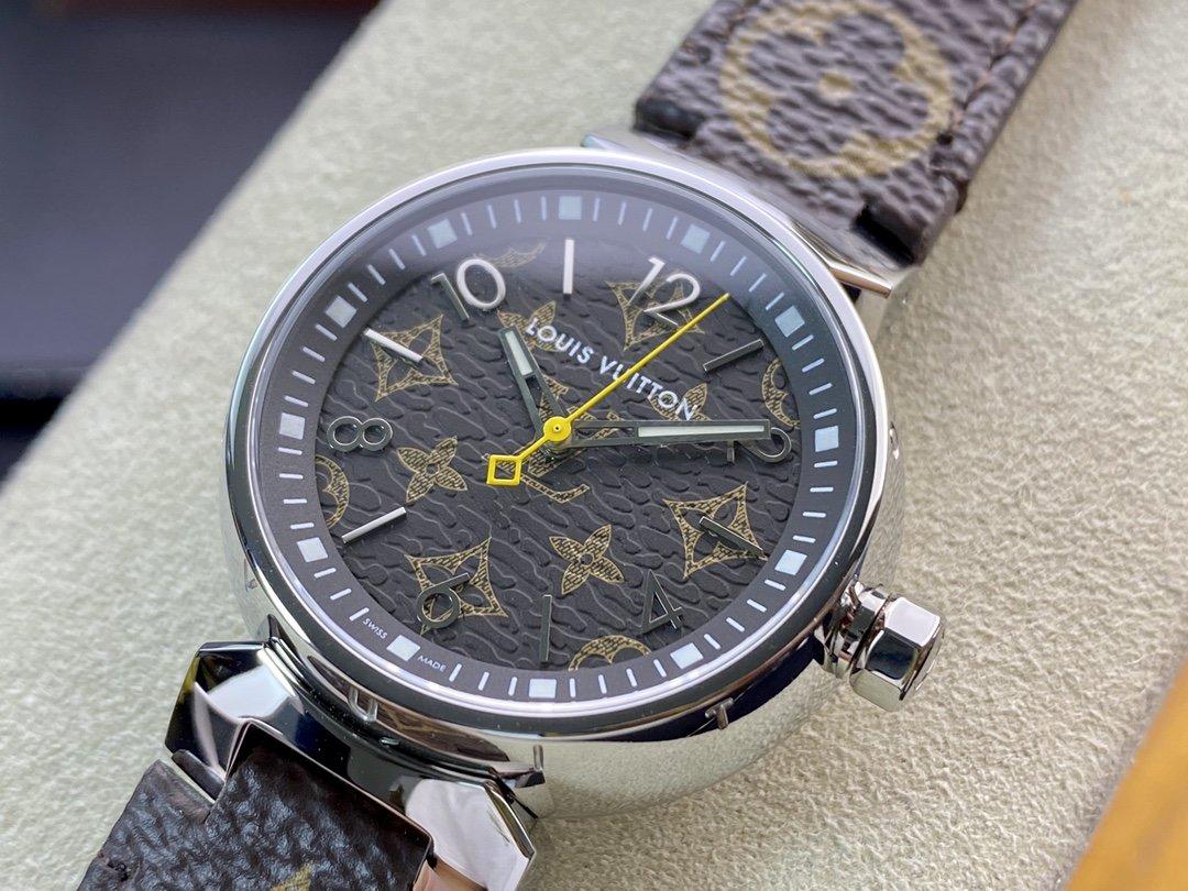 高仿LV手錶工廠超神之作LV——TAMBOUR SLIM全系列瑞士石英機芯複刻手錶