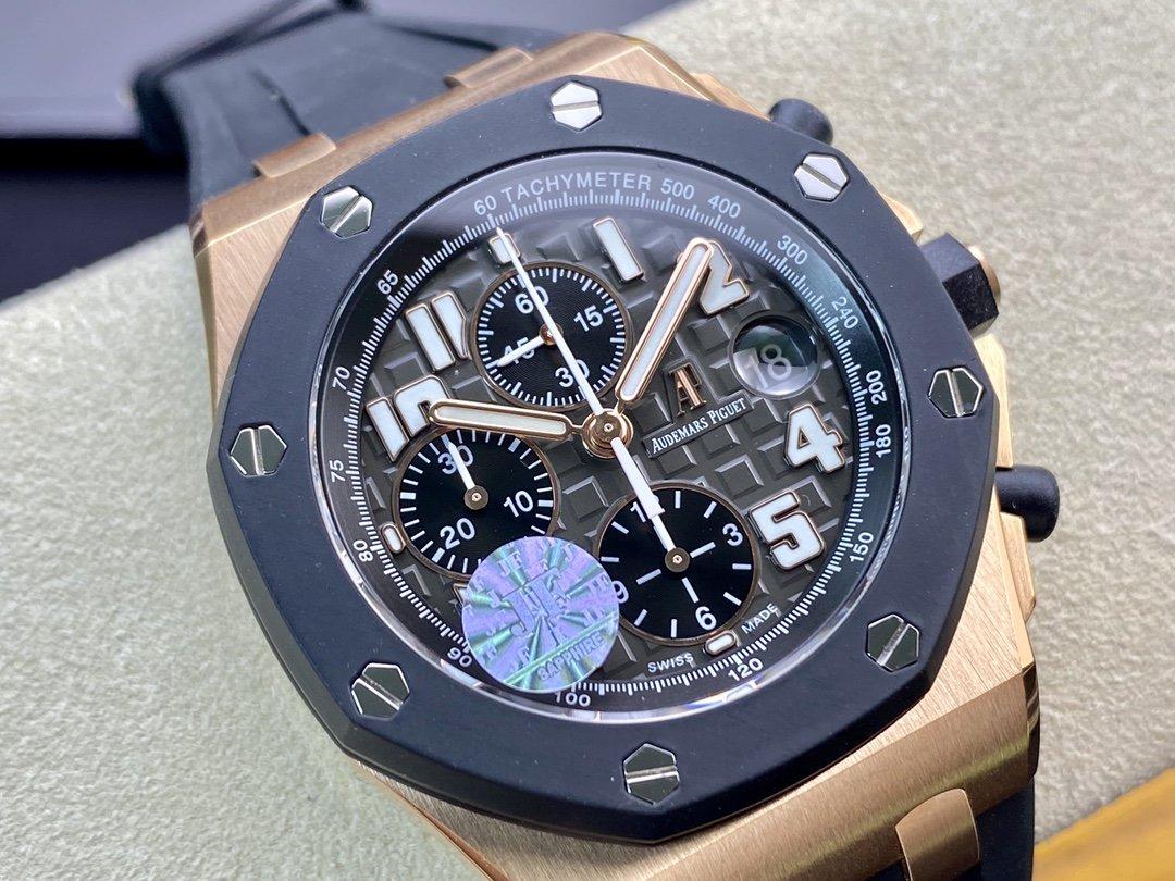JF出品 愛彼AP25940可選其他顏色盤26170配7750機芯42MM 複刻手錶