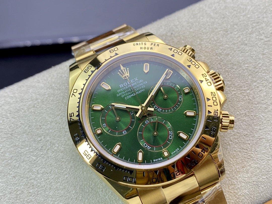TW廠高仿勞力士迪通拿904L鋼計時7750/4130機芯40MM複刻手錶