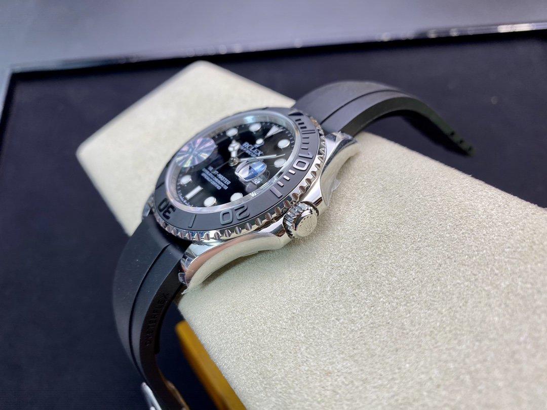 WF Factory高仿勞力士ROLEX 遊艇名仕型YM白遊艇2836機芯42MM複刻手錶