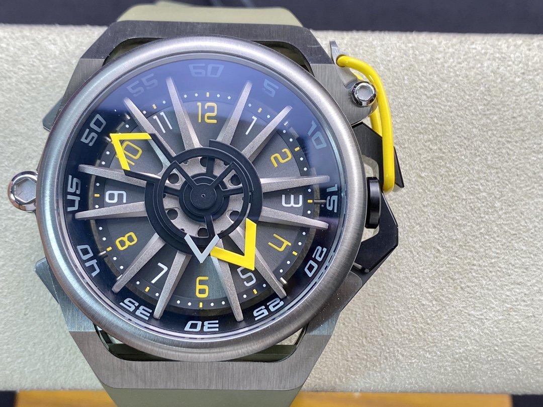 原裝義大利品牌魔舵MAZZUCATO絕不乏味RIM系列腕表雙面反轉的獨特設計手錶
