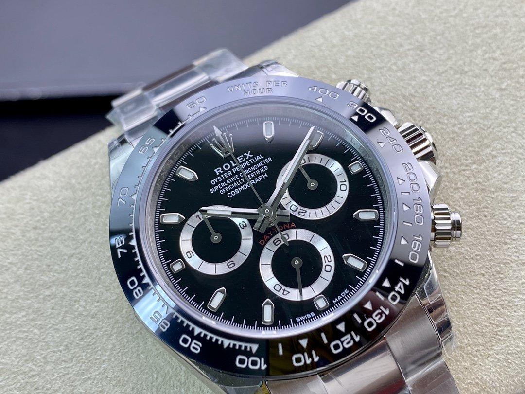 TW廠高仿勞力士迪通拿系列904L鋼7750/4130機械40MM複刻手錶