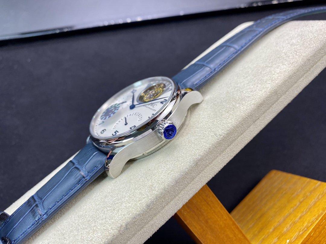 ZF廠高仿萬國IWC萬國表葡萄牙系列逆跳陀飛輪44MM複刻手錶