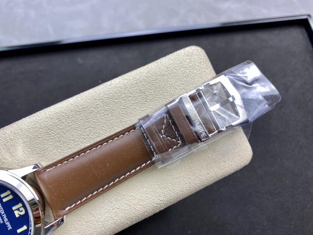 GR工廠最新V2升級版PP百達翡麗時區功能🔥ref.5524系列Calatrava飛行家旅行時間腕表系列複刻手錶