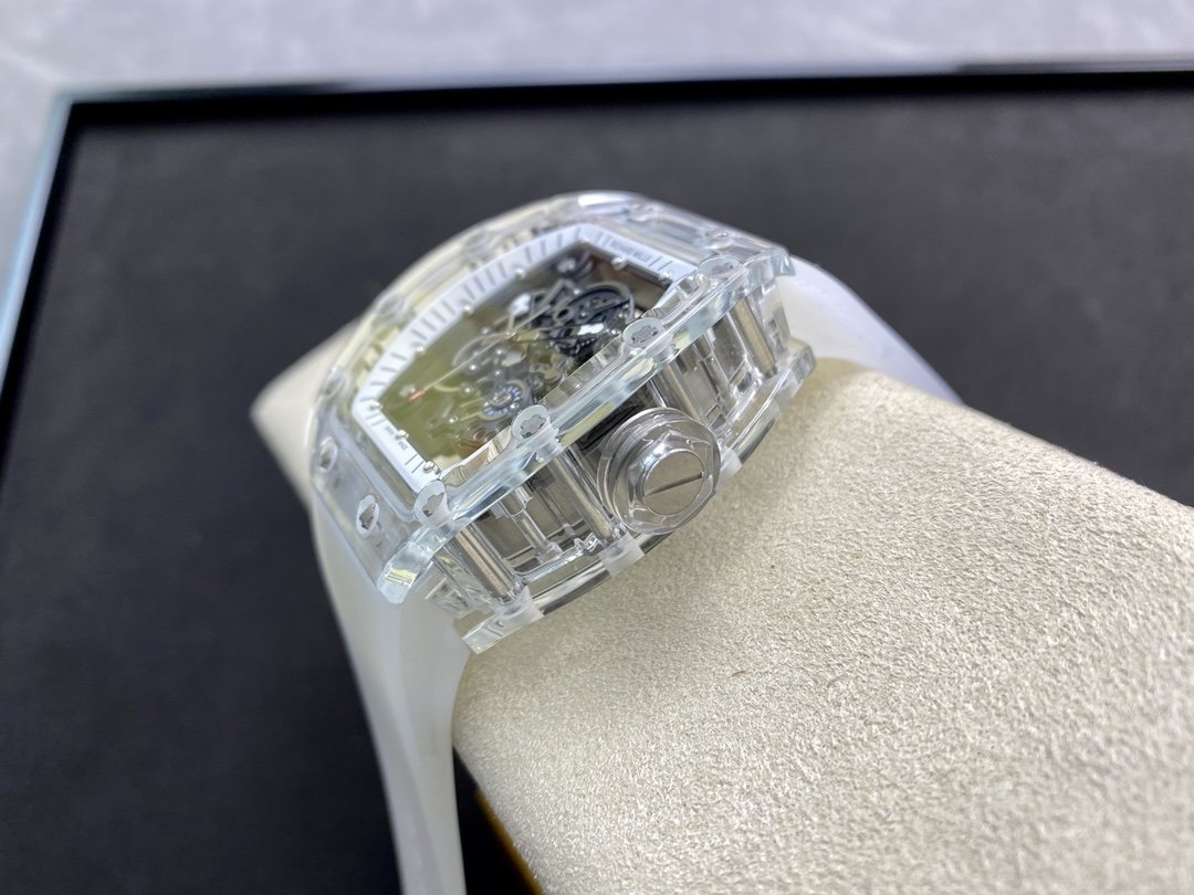 RM廠高仿理查德米勒RM35-02玻璃透明系列機械複刻手錶