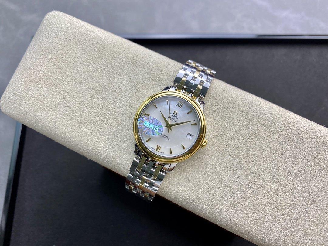 MKS廠歐米茄女表蝶飛經典系列9015機芯33MM複刻手錶