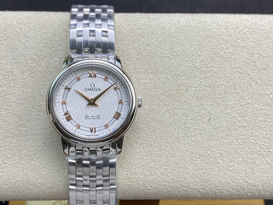 ZF廠高仿歐米茄女蝶飛石英系列27MM複刻手錶