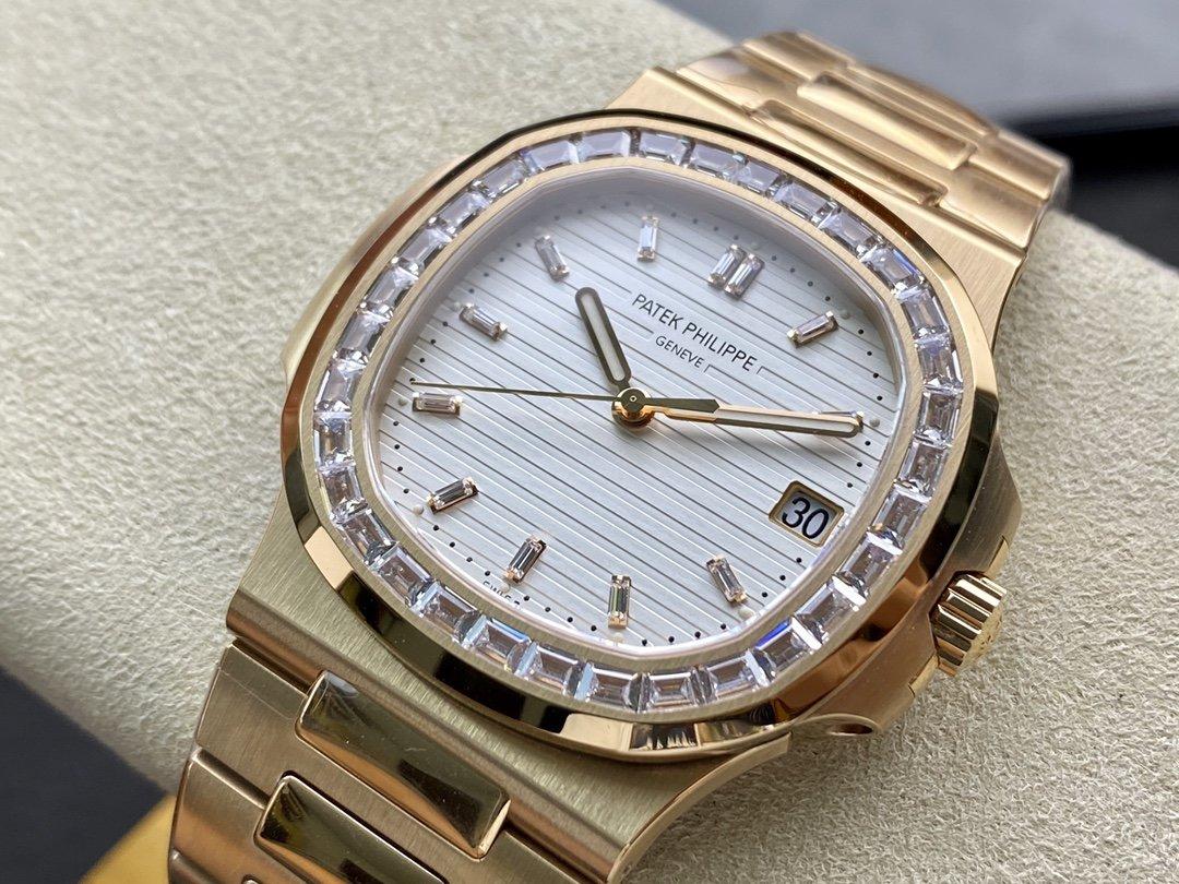 PPF廠V4版百達翡麗鸚鵡螺5711系列一體芯Cal.324機芯40MM複刻手錶