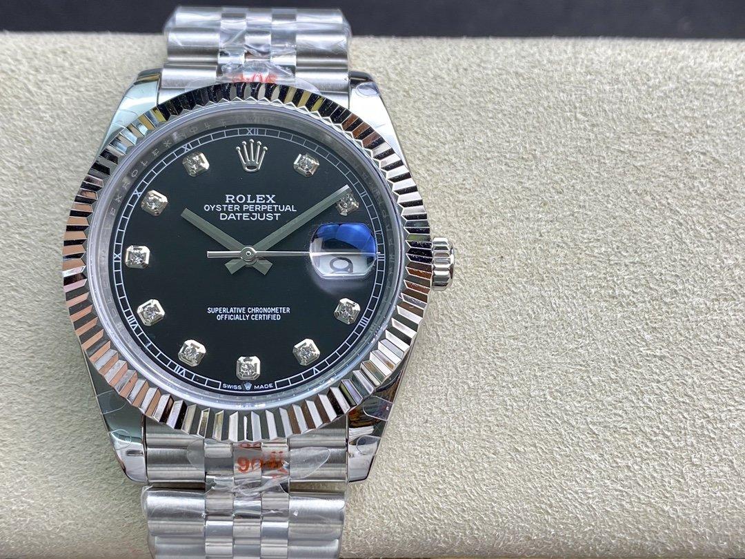 GM廠高仿勞力士41mmROLEX DATEJUST超級3235機芯904鋼複刻手錶
