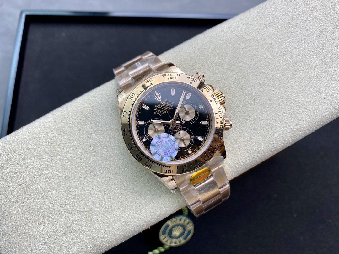 TW廠高仿勞力士迪通拿系列7750/4130機芯40MM複刻手錶