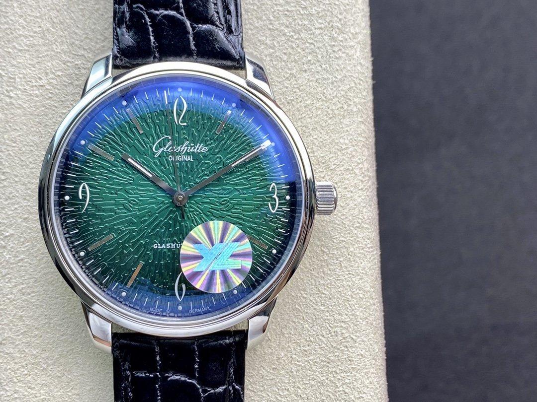 YL廠高仿格拉蘇蒂原創六零年代系列腕表Cal.39-52機芯39MM複刻手錶