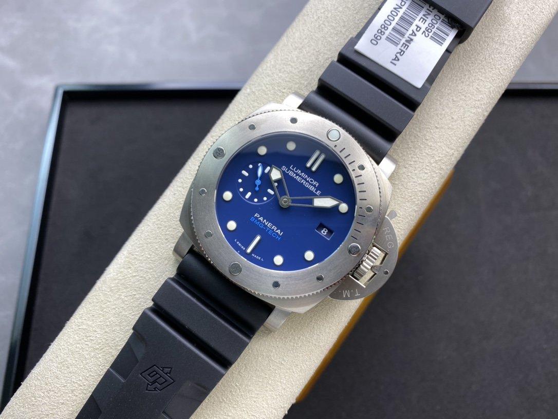VS廠高仿沛納海PAM692深邃墨水騷藍47mm複刻手錶