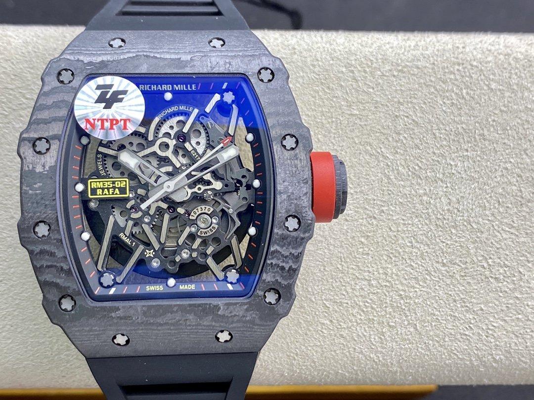 ZF攜手國際知名理查德改裝廠ABD(All Black Department)理查德RM35-02複刻手錶