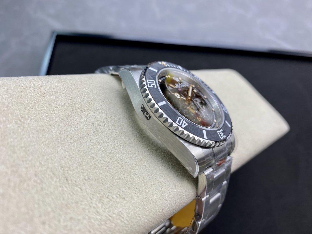 EW Factory廠魔改勞力士Rolex全鏤空水鬼潛航者系列3130機芯40MM複刻手錶