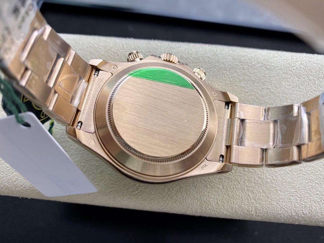 BL廠高仿勞力士 全新彩虹迪 迪通拿系列116595RBOW搭載Cal.4130機芯40MM複刻手錶