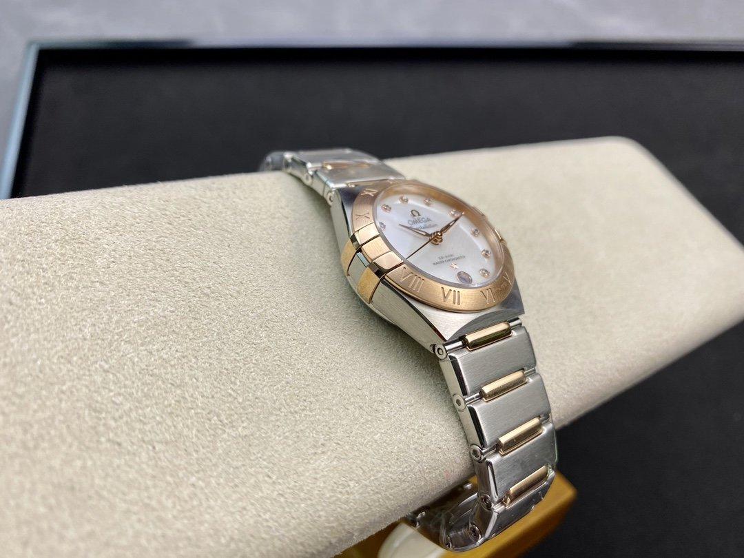 SSS廠3S高仿歐米茄第五代星座系列曼哈頓8700機芯29mm複刻手錶