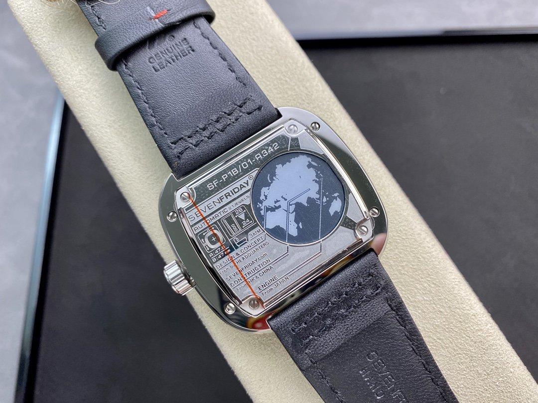 高仿七個星斯五 P1B/01型號 SevenfridayP系列西鐵城機芯47MM一比一複刻手錶