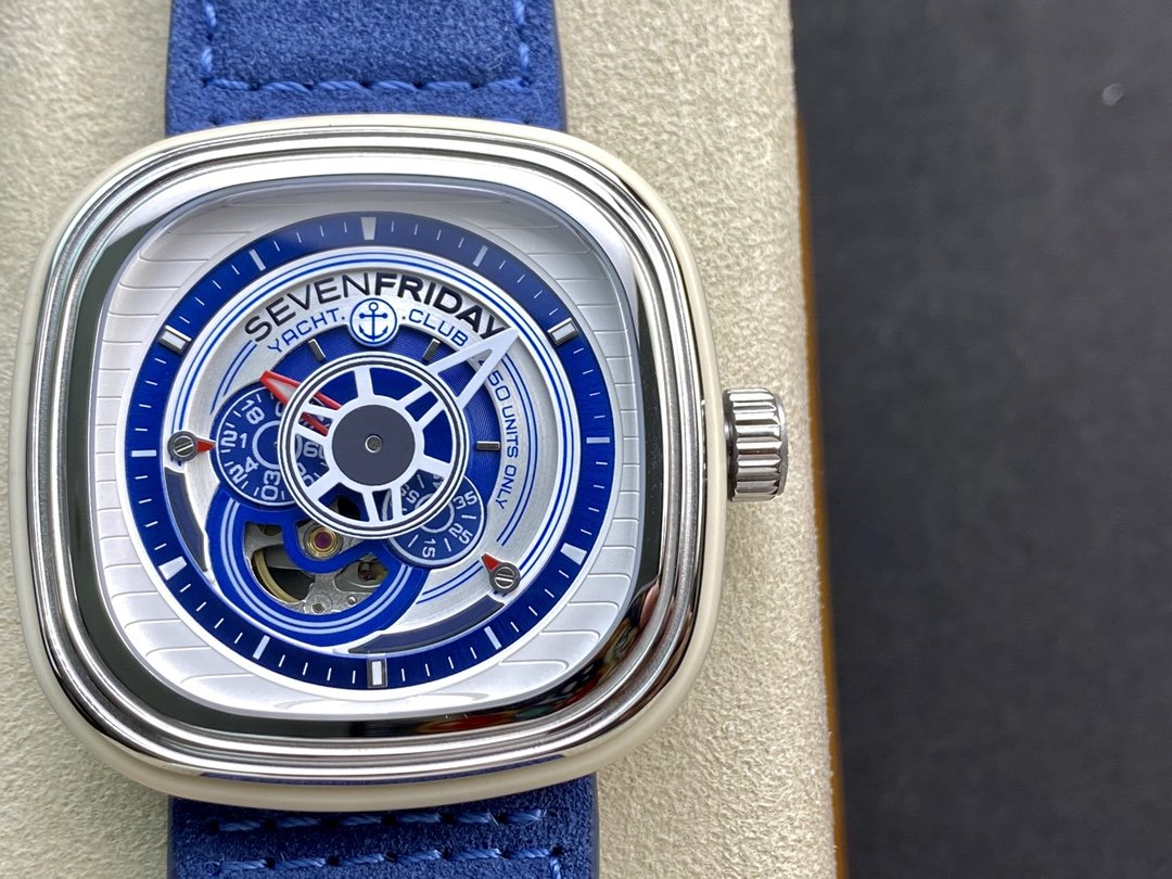 高仿七個星期五Sevenfriday P系列 P3/06型號西鐵城機芯47MM複刻手錶