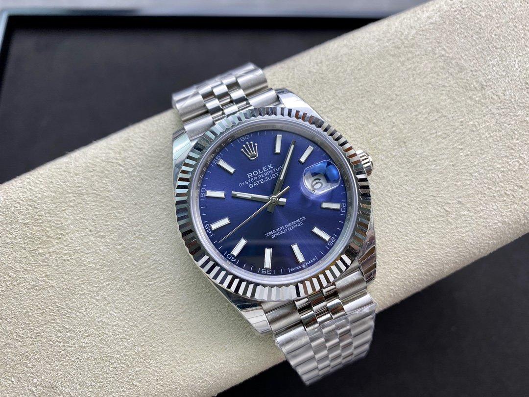 EW Factory廠V3升級版 原版開模 最高版本 勞力士Rolex 3235自動機械機芯日誌型系列126331男士日誌型41MM一比一複刻手錶