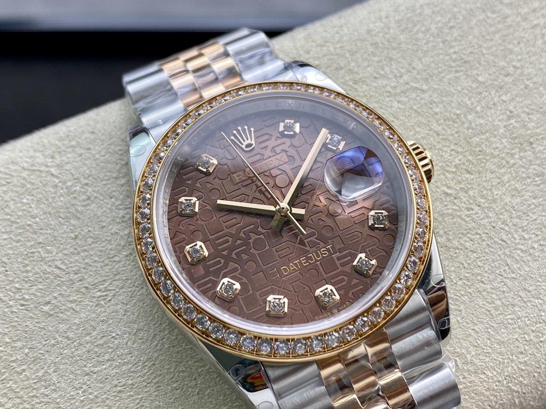BP廠高仿勞力士ROLEX 電腦紋錶盤日誌系列2836機械機芯36mm複刻手錶