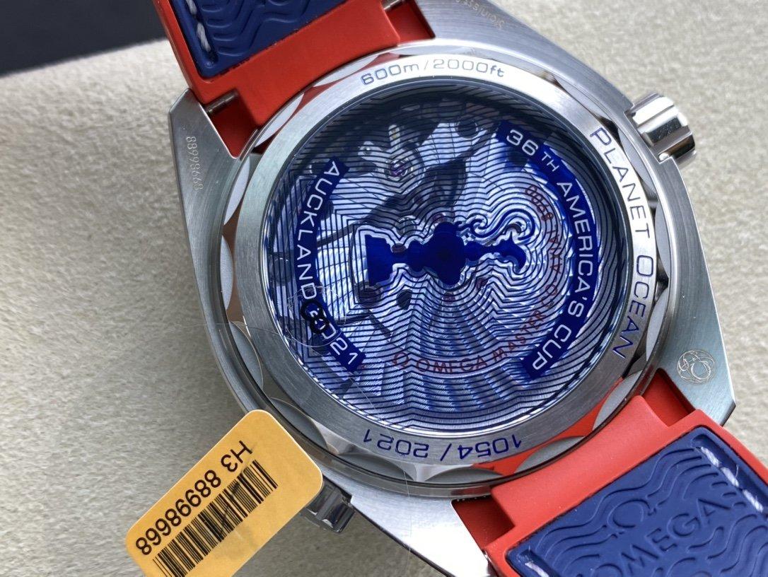 VS廠高仿歐米茄全新海馬美洲杯8900機械機芯43.5MM複刻手錶