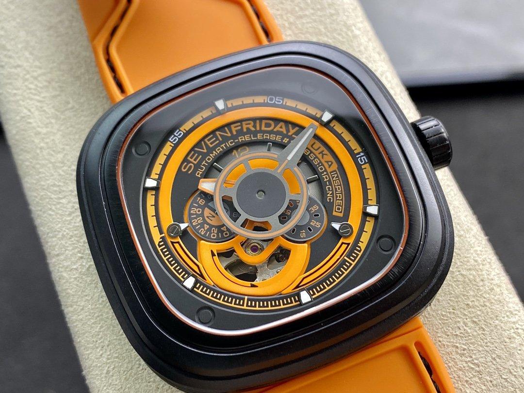 高仿七個星期五SEVENFRIDAY 是P3/07系列8215機芯複刻手錶