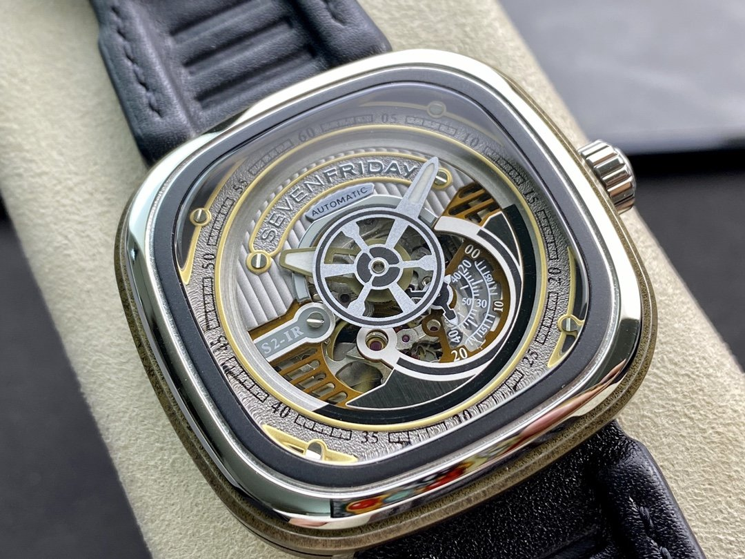 seven Friday高仿七個星期五 S2/01系列西鐵城機芯47MM複刻手錶