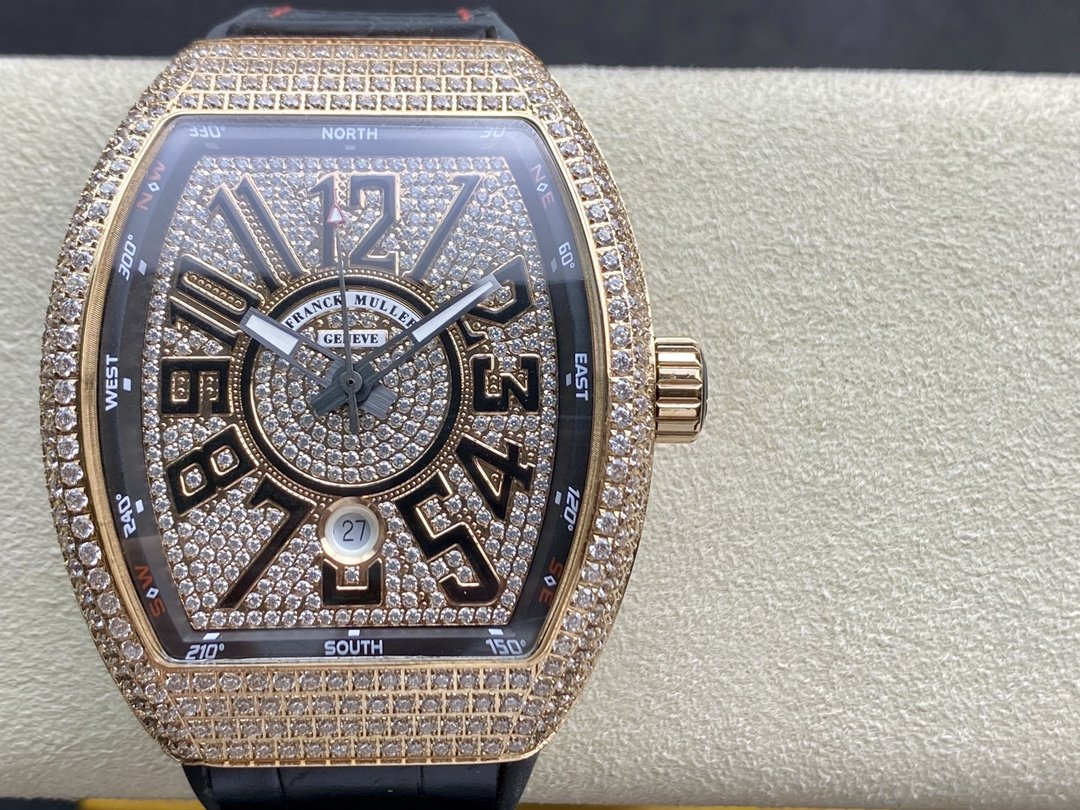 ABF廠升級版V45最高品質 Franck Muller 法蘭克穆勒 44x54 mm複刻手錶