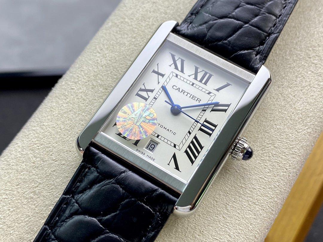 AF廠高仿卡地亞坦克系列W5200027腕表2892機芯31MM男士複刻手錶