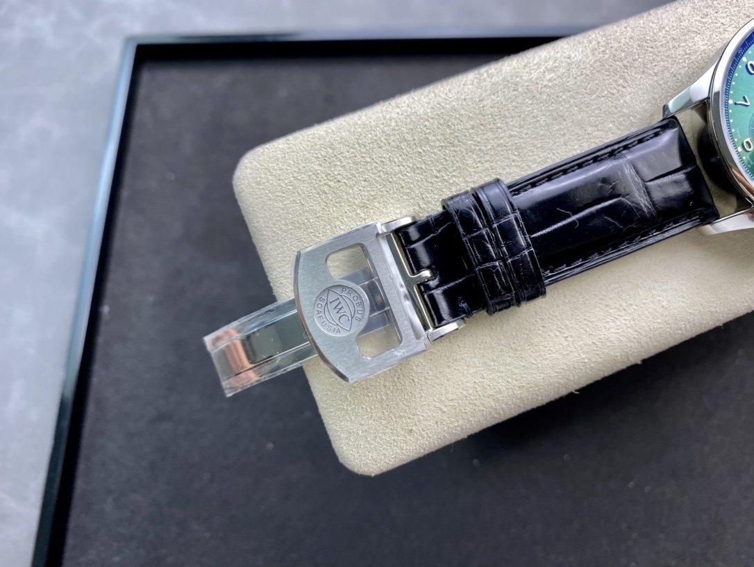 客訂鱷魚皮帶YL廠高仿萬國IWC 葡萄牙系列葡計透底 150周年計時複刻手錶