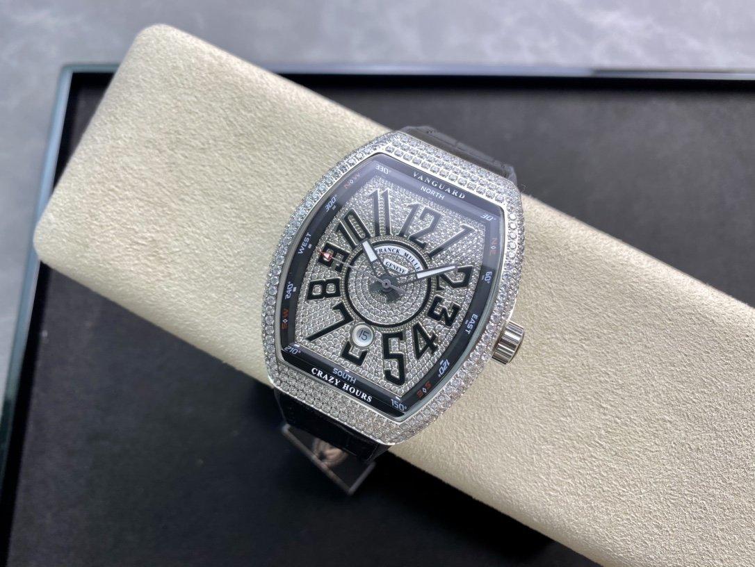 ABF廠升級版V45最高品質法蘭克 Franck Muller 法蘭克穆勒 44x54 mm複刻手錶