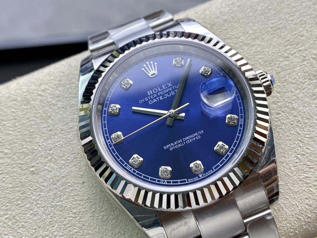 EW Factory 廠V3升級版原版開模最高版本高仿勞力士Rolex 3235機芯日誌型系列126331男士41毫米複刻手錶