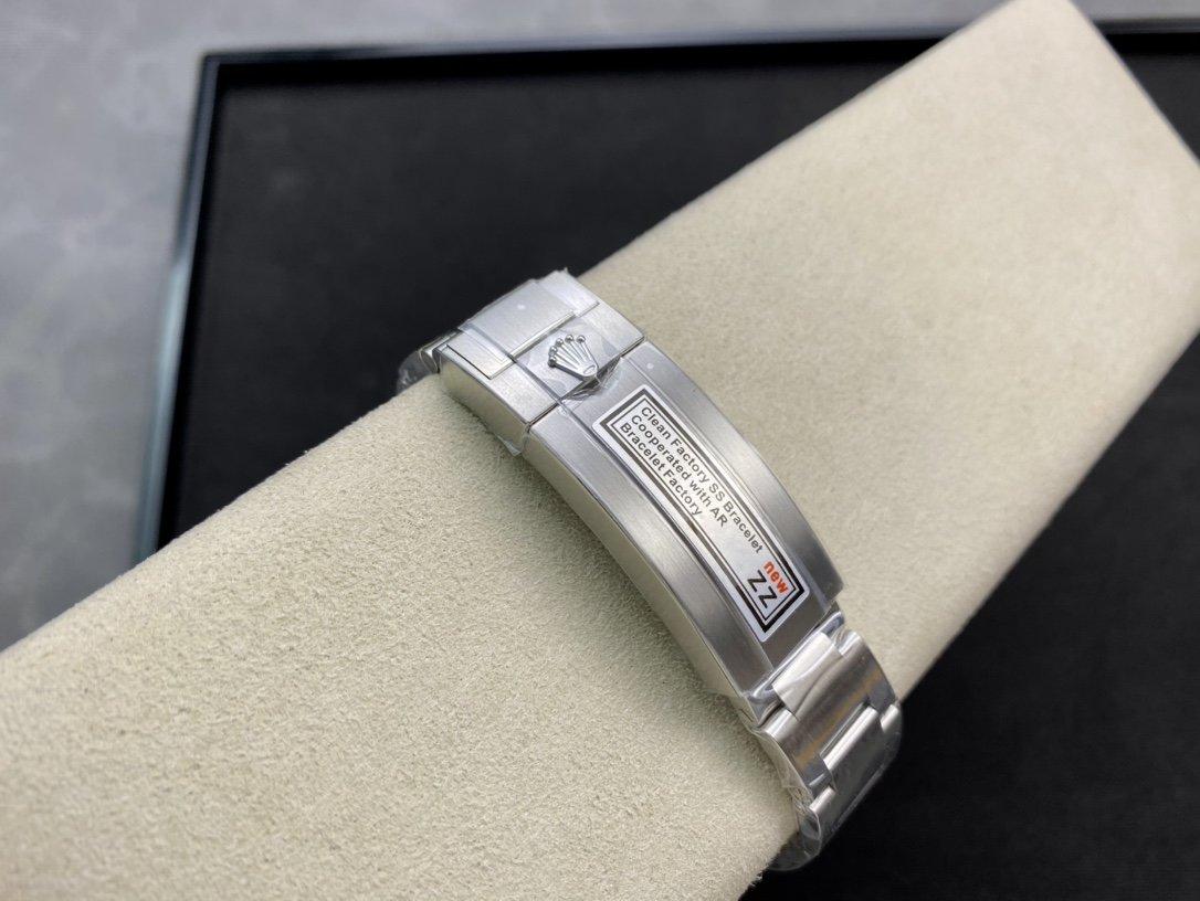 ZZ廠高仿勞力士無曆黑水鬼,黑水鬼,綠水鬼,V3版3135機芯40MM複刻手錶