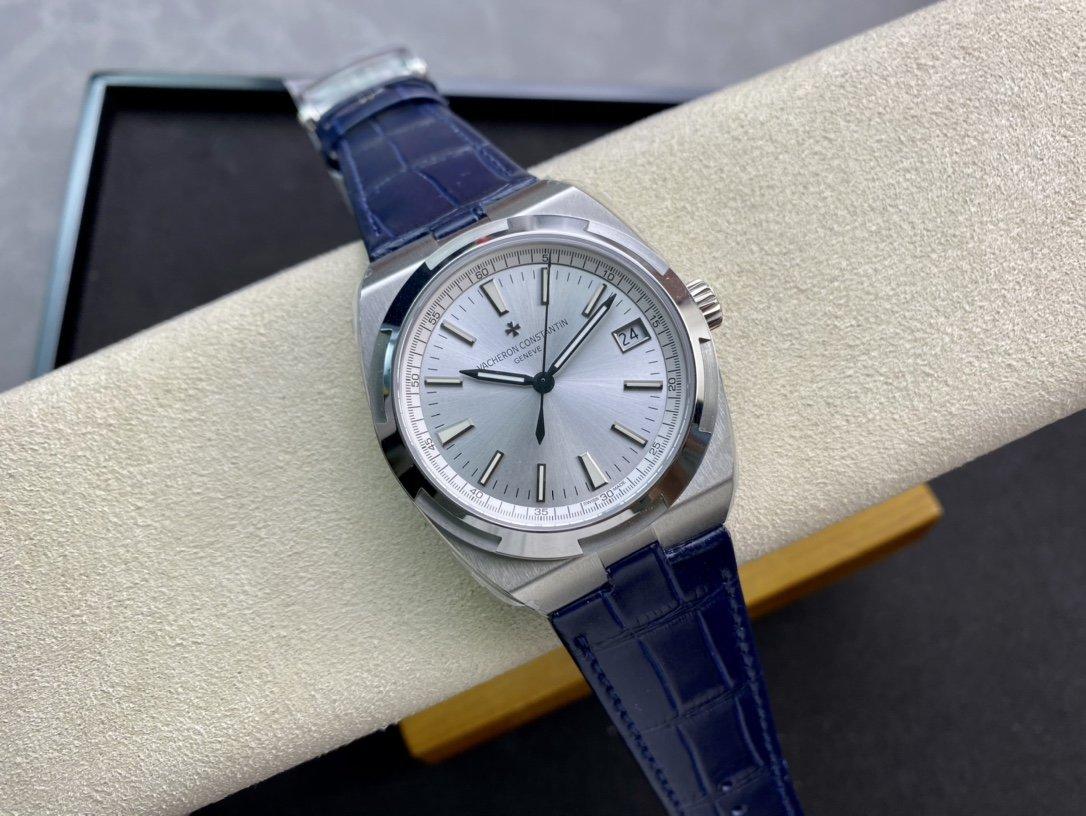 8F廠V3版Vacheron Constantin 江詩丹頓 Overseas 縱橫四海9015改 5100機芯複刻手錶