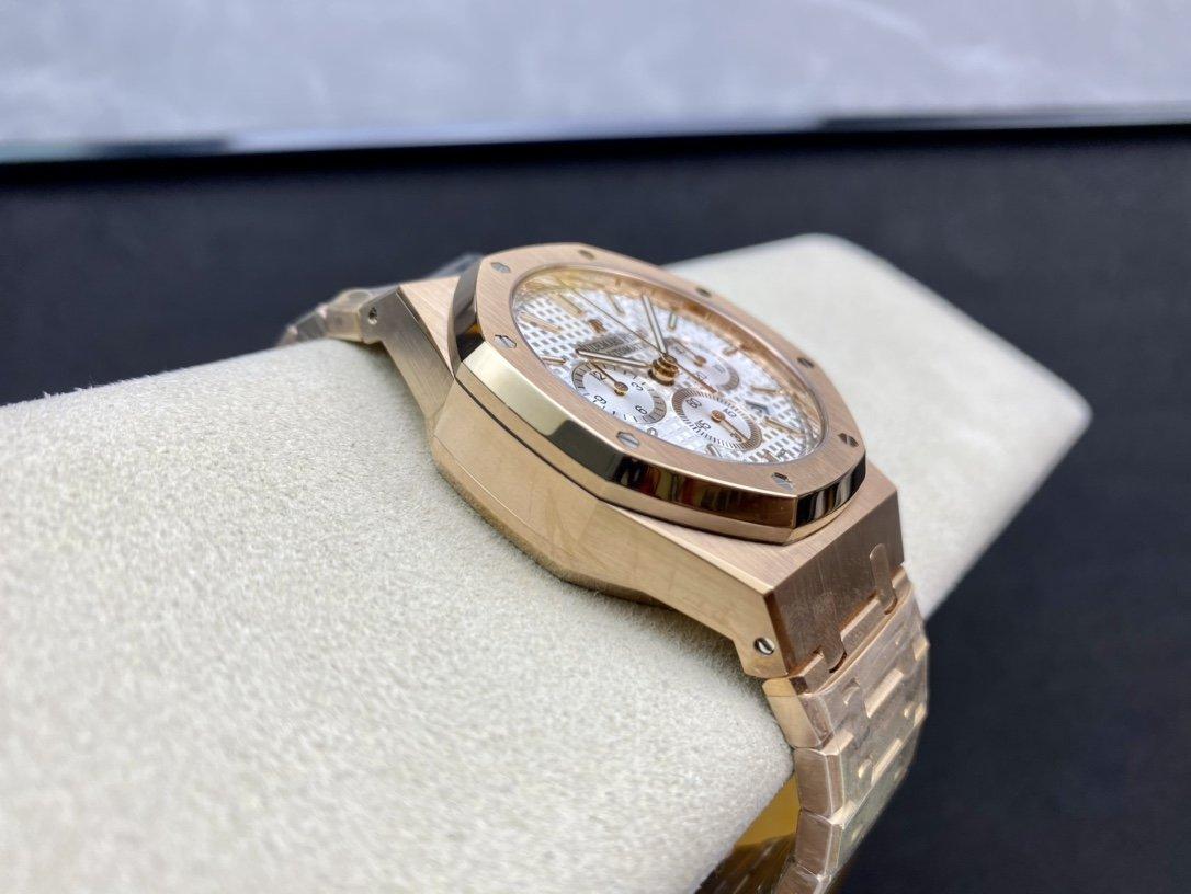 OM廠V2版高仿愛彼皇家橡樹26331計時系列2385機芯複刻手錶