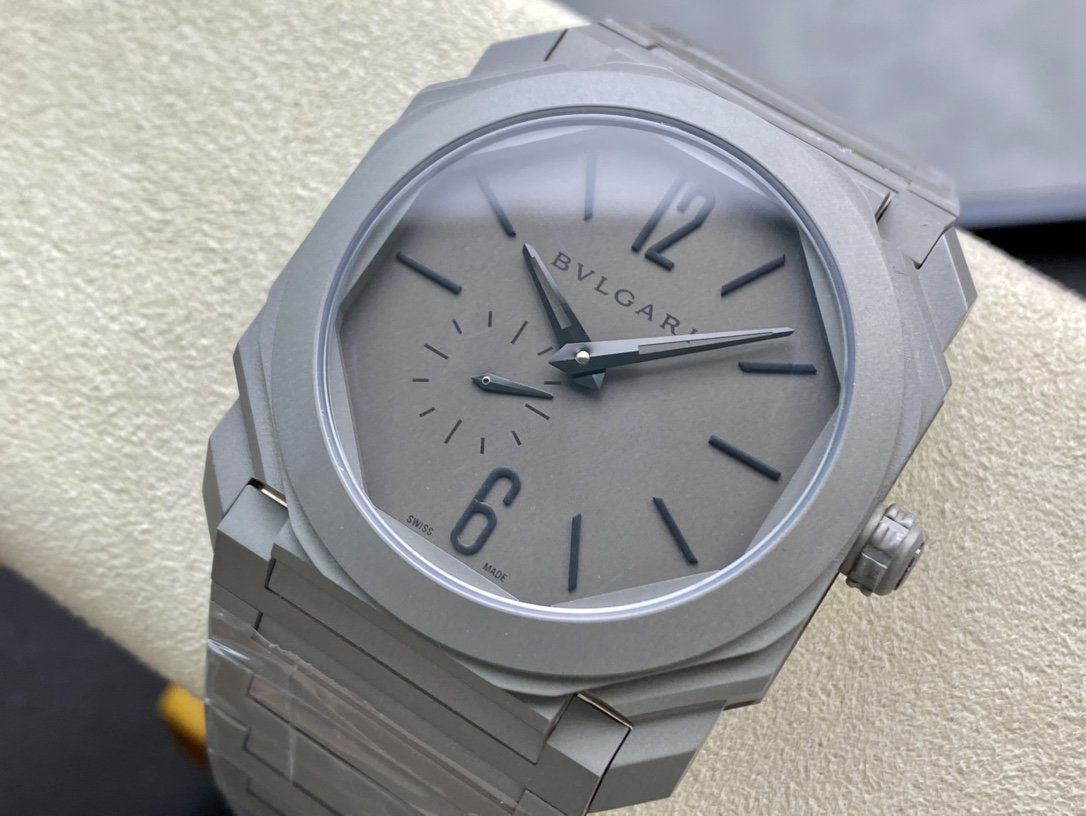 BV廠高仿寶格麗2018新款OCTO Finissimo魅力男士自製Calibre BVL 138機芯41毫米複刻手錶