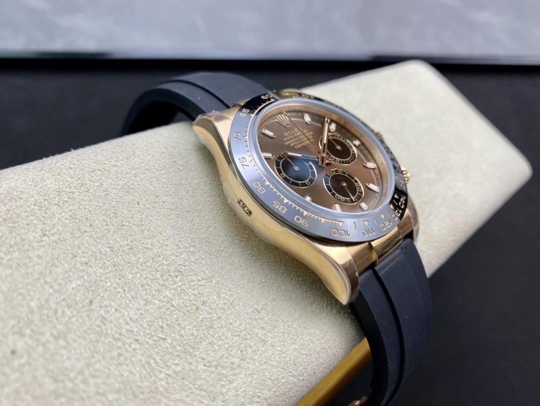 N廠高仿勞力士玫陶迪迪通拿超級4130機芯40MM複刻手錶