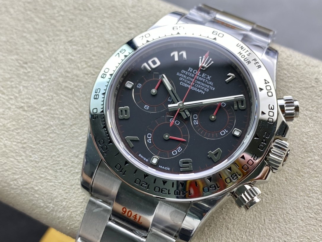 N廠高仿勞力士 紅魔 迪通拿 超級4130機芯40MM精仿複刻手錶