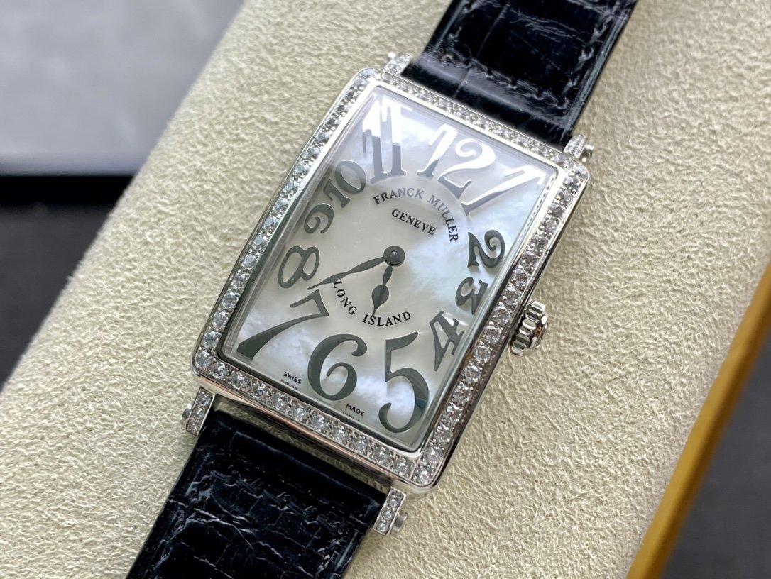 全新最美女表高仿法蘭克穆勒 LONG ISLAND長島952QZ系列複刻手錶