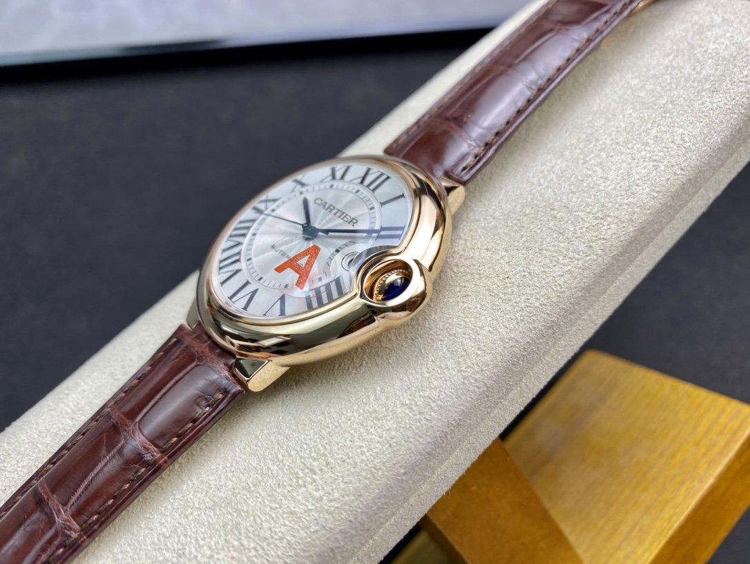 V6 廠一表一卡一碼V7版高仿卡地亞藍氣球2824機芯42MM複刻手錶