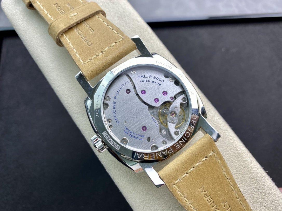 SF出品沛納海 PAM690直徑47mm藍寶石玻璃鏡面搭配SF自產P.3000 手動上鏈機芯複刻手錶