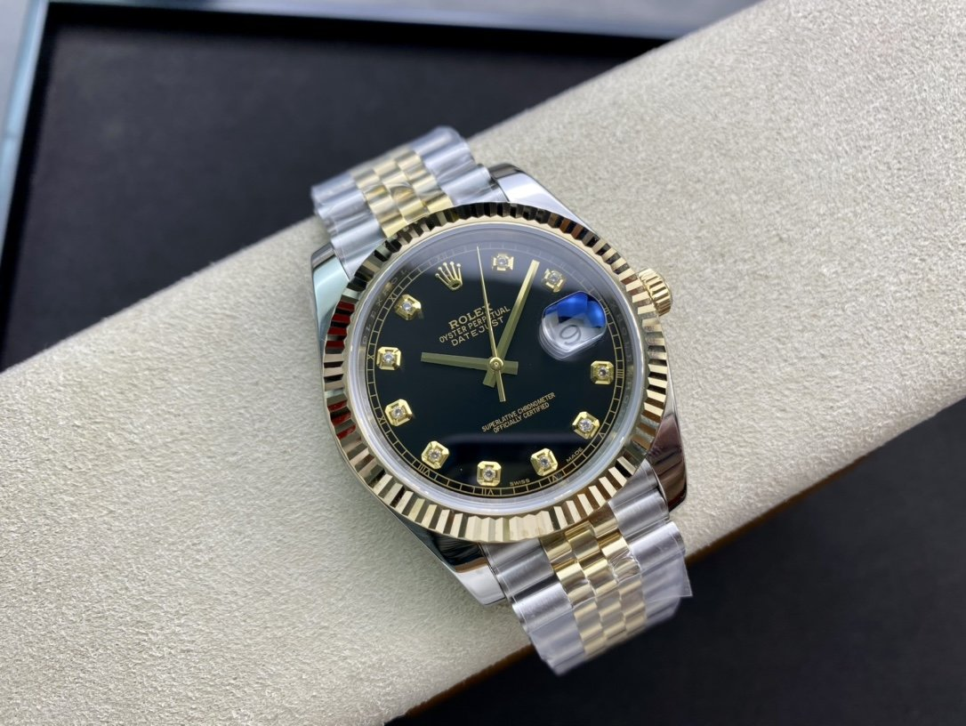N廠高仿勞力士日誌型複刻3235機芯41mm包金版複刻手錶