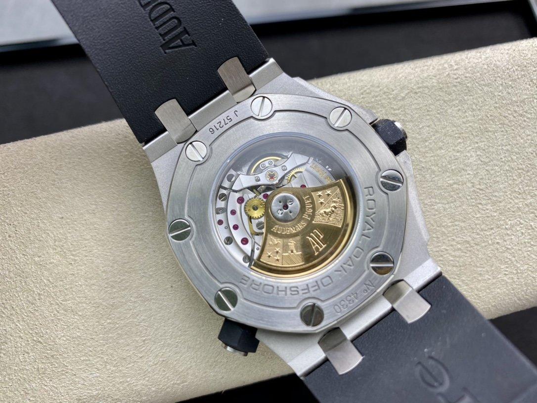 """JF廠標杆神器高仿愛彼AP皇家橡樹離岸型""""15710""""背透系列複刻手錶"""