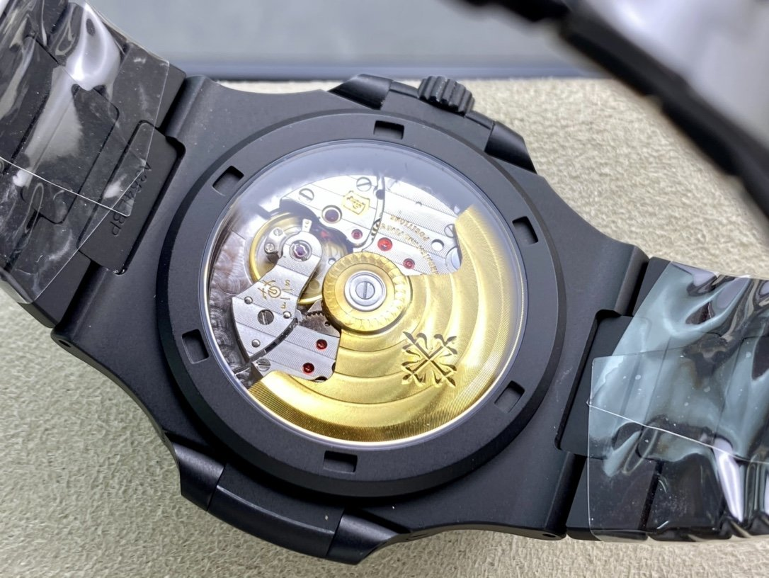 PPF V4 DCL版金剛石碳塗層表殼高仿百達翡麗超級鸚鵡螺複刻手錶