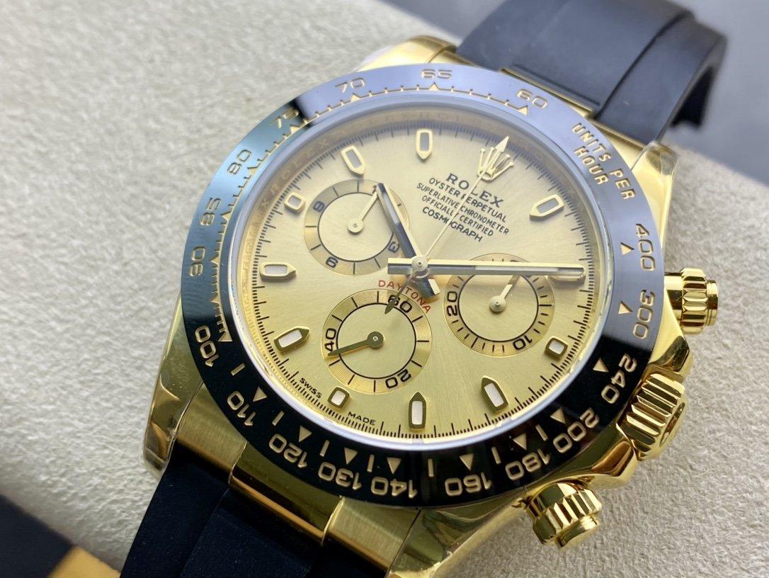 N廠高仿勞力士迪通拿超級4130機芯40MM一比一複刻高仿手錶