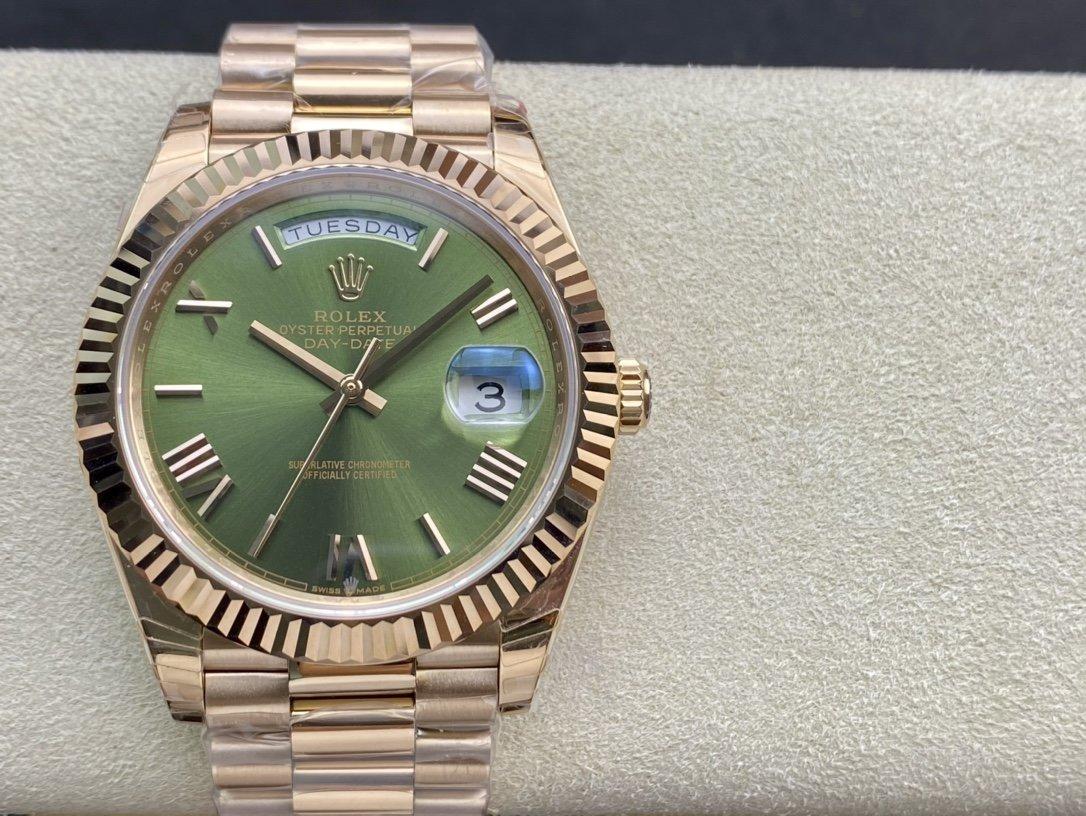 EW Factory複刻勞力士Rolex星期日志型3255機芯40mm高仿手錶